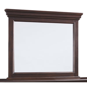 Brynhurst Bedroom Mirror - Dark Brown