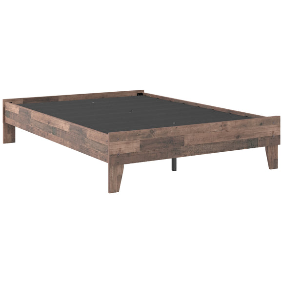 Neilsville Full Platform Bed - Multi Grey