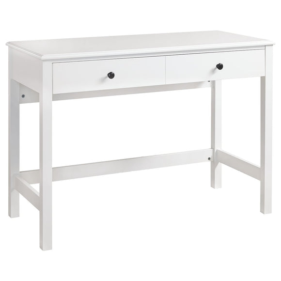 Othello Small Home Office Desk - White