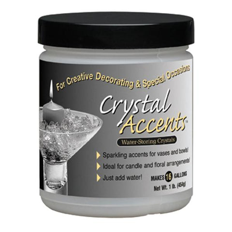 Soil Moist 1lb Crystal Accents Jar One Color 6 Count