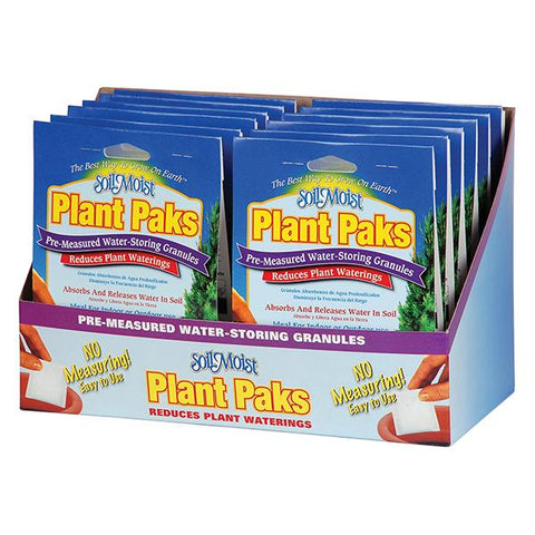 Soil Moist Paks 12 Count Shelf Display