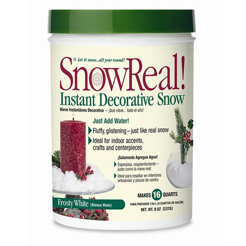 Soil Moist 8oz Snow Real Jar 12 Count