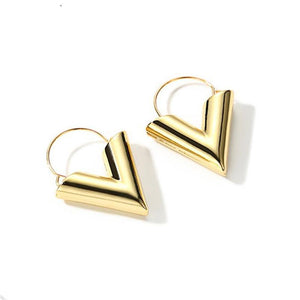 V Dangle Earring - Manhers Fashion