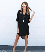 Loose Elegant Dress - Manhers Fashion