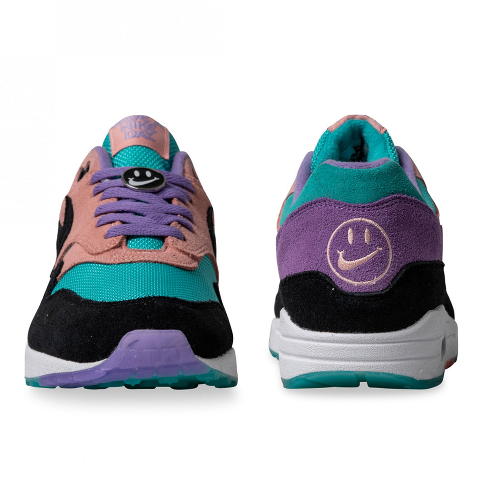 buy popular ffb7d 0e8f8 Nike Air Max 1 Have A Nike Day Purple Coral MEN s