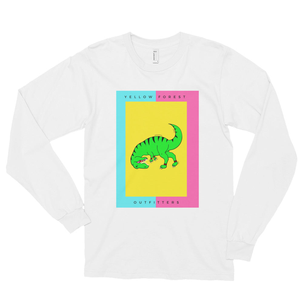 5d61668d632 T-REX Long sleeve t-shirt MEN – Yellow Forest Outfitters