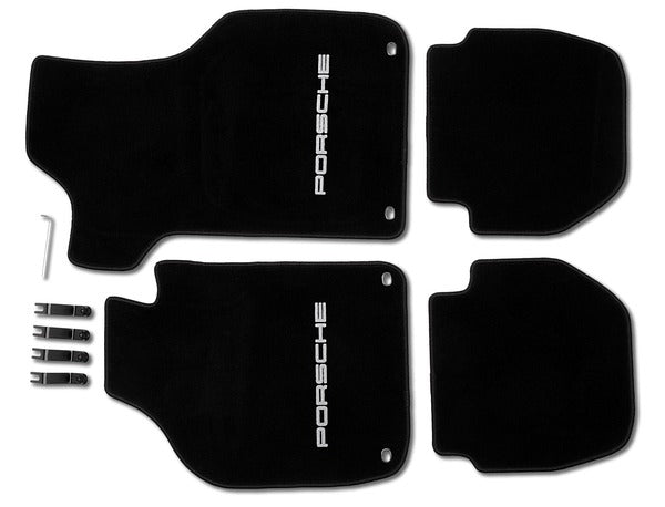 Porsche Classic Floor Mats for 911 G Cabriolet and Targa (1983 to 1989)