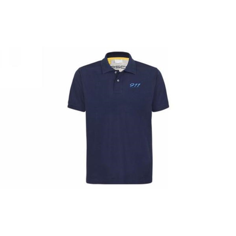 Porsche Driver's Selection Men's Polo, Dark Blue - 911 Collection