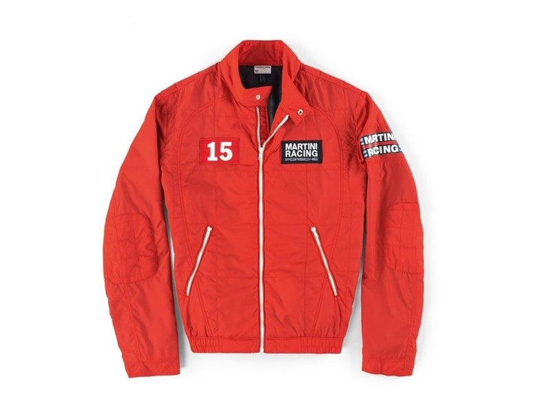 Porsche Driver's Selection Men's Windbreaker Jacket (Red) - Martini Racing, Limited Edition
