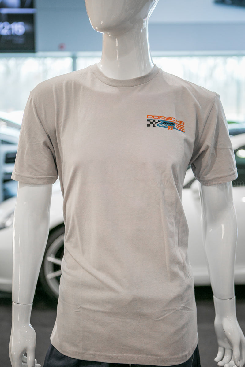 Porsche Driver's Selection Rennsport Reunion VI T-Shirt- Gray