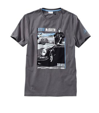 Porsche Driver's Selection Men's T-Shirt - Steve McQueen Collection
