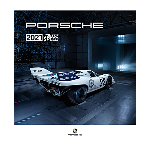 Porsche Driver's Selection Calendar 2021 Icons Of Speed