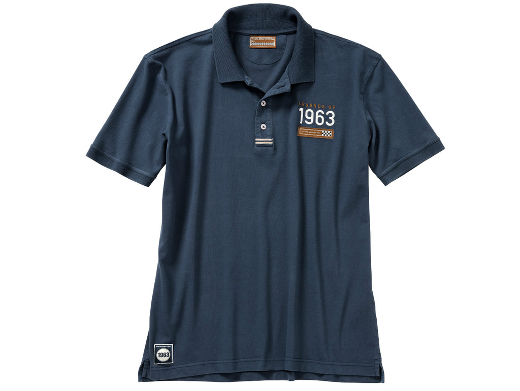 "Porsche Driver's Selection ""Legends of 1963"" Men's Polo Shirt - Classic Collection"