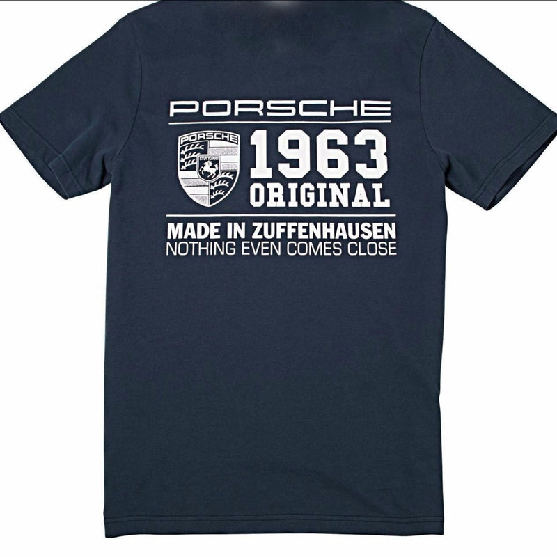 "Porsche Driver's Selection Collector's T-shirt No.2 - ""1963 Original. Made in Zuffenhausen"""