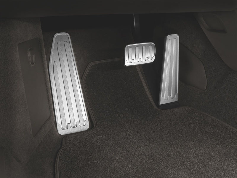 Porsche Tequipment PDK Pedals and Footrest in Aluminium for Porsche 911 Carrera (991)