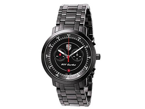 Porsche Driver's Selection 911 Turbo Classic Chronograph - Black