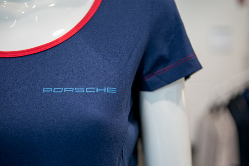 Porsche Driver's Selection Ladies Relaxed T-Shirt- Rennsport Reunion VI