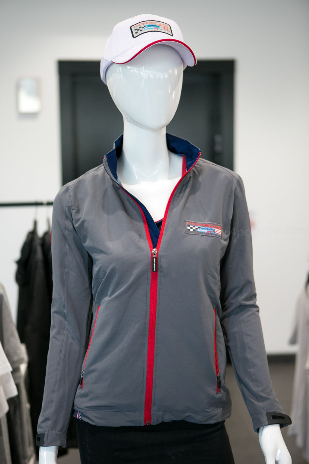 Porsche Driver's Selection Women's Softshell Jacket- Rennsport Reunion VI