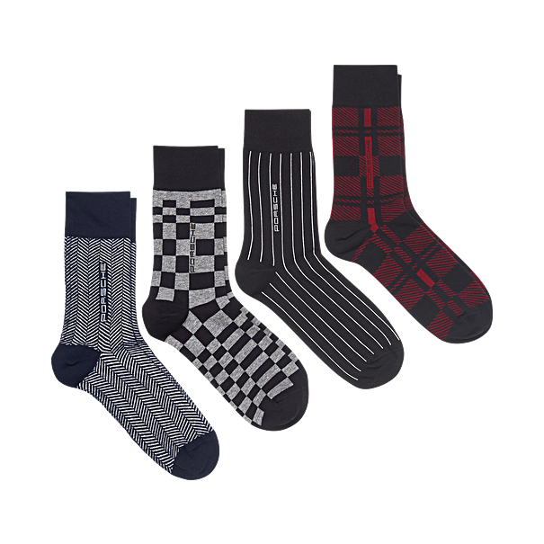 Porsche Driver's Selection Unisex Sock Set  - #PORSCHE Collection