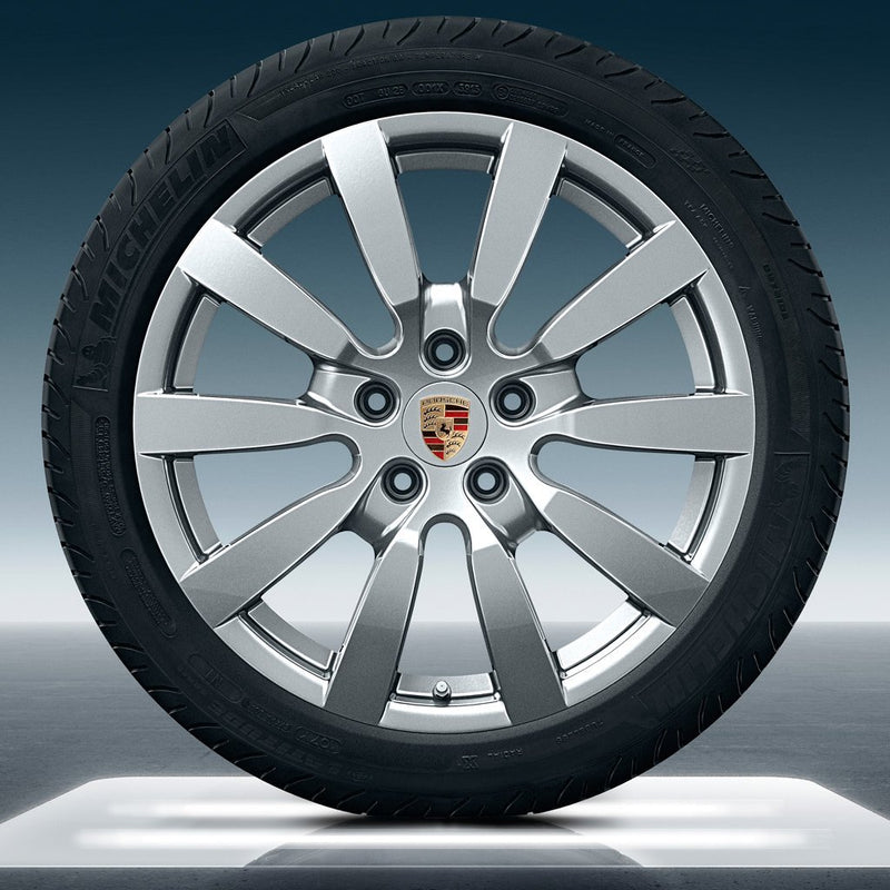 "20"" Cayenne E2 II ""SportDesign"" winter set - Silver"