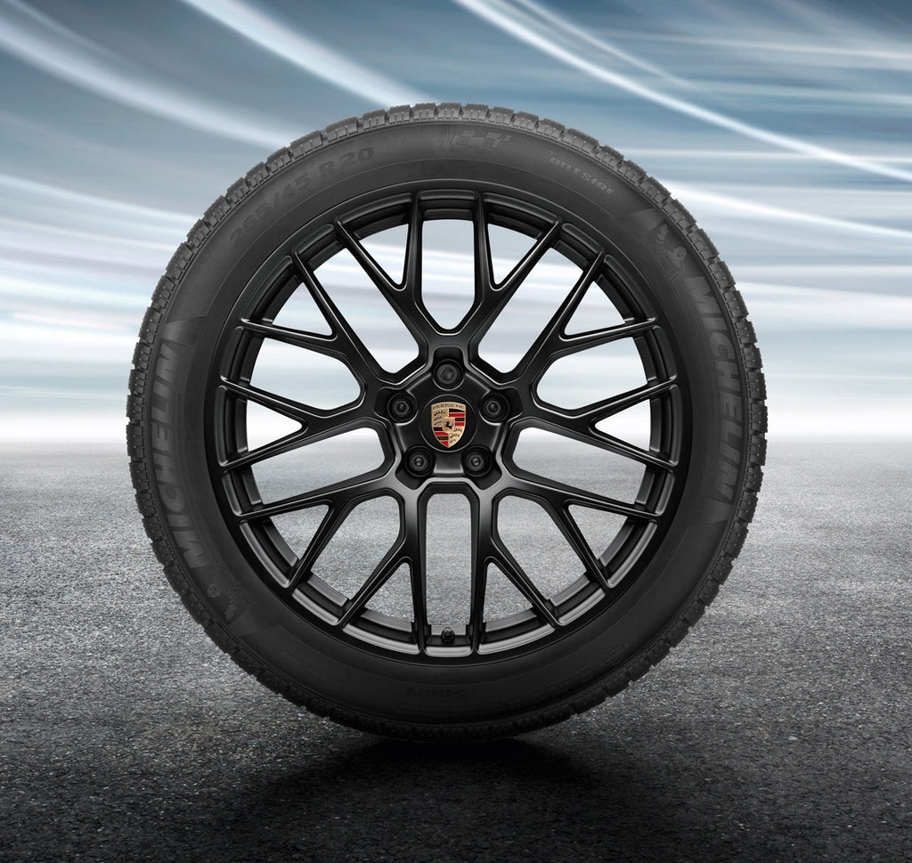 "20"" Macan II RS Spyder winter set - Black"