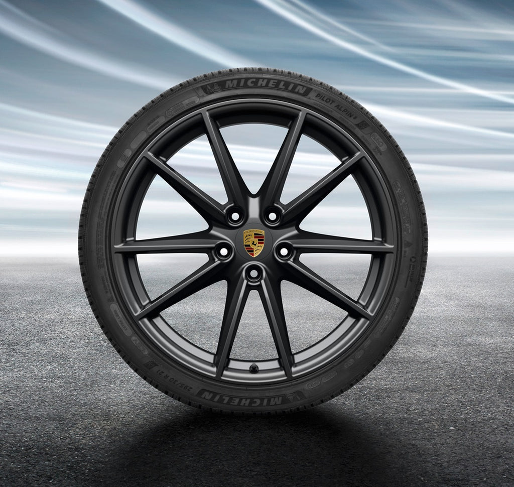 "20/21-inch  ""Carrera S"" Winter Set - for 911 (992) - in Black"