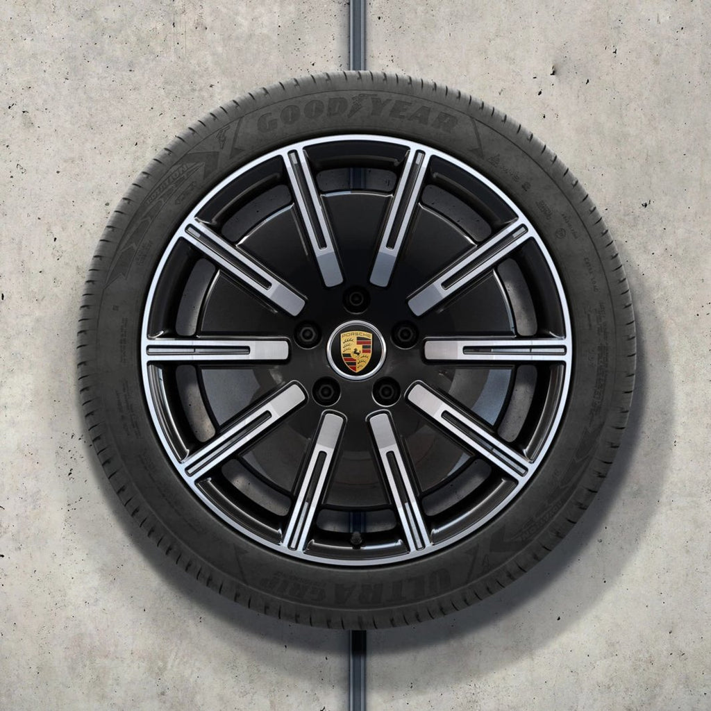 "20"" Taycan ""Sport Aero"" Winter Set - Silver / Black"