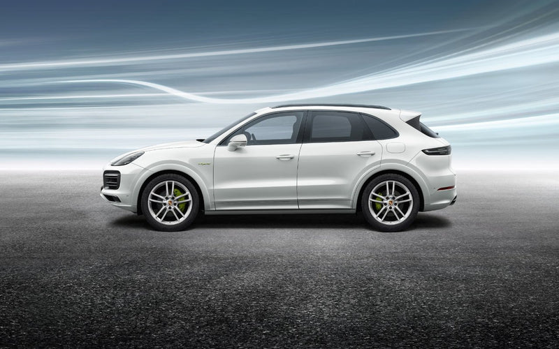 "20"" Cayenne E3 Sport winter set - Silver"