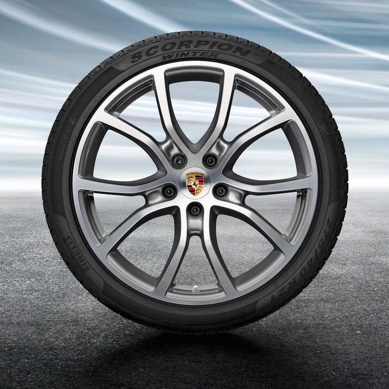 "21"" Cayenne E3 Exclusive Design winter set - Silver"