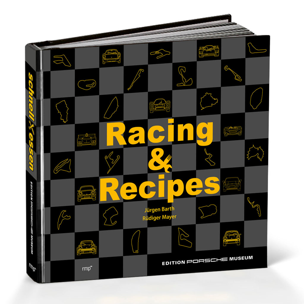 Porsche Museum Book - Racing & Recipes- The Racing Cookbook