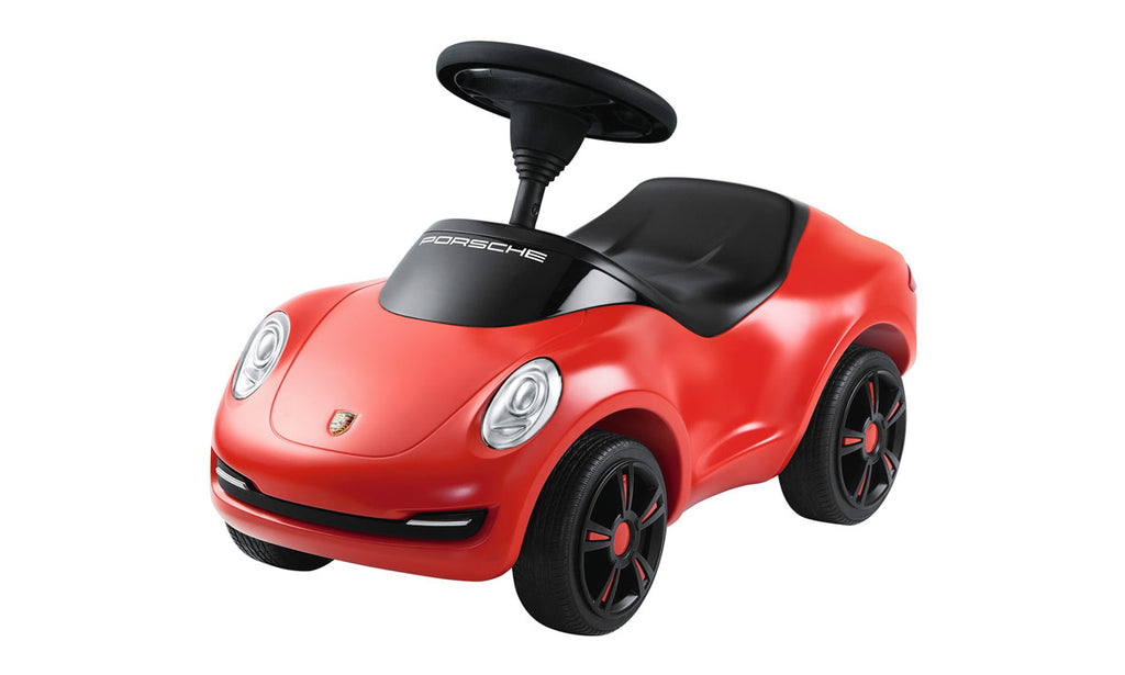 Porsche Driver's Selection Kids Push Car - Red