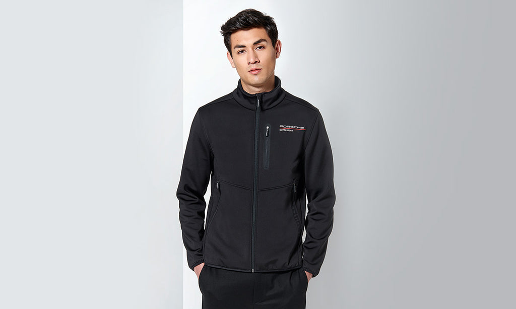 Porsche Driver's Selection Men's Softshell Jacket- Motorsport Collection