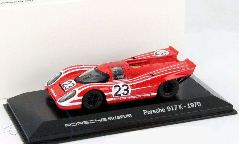 1970 Porsche 917K #23 Salzburg 1:43 Model Car - Porsche Museum Collection