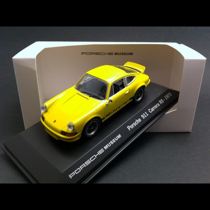 Porsche Musuem Series 911 Carrera 1:43 Model Car - Yellow