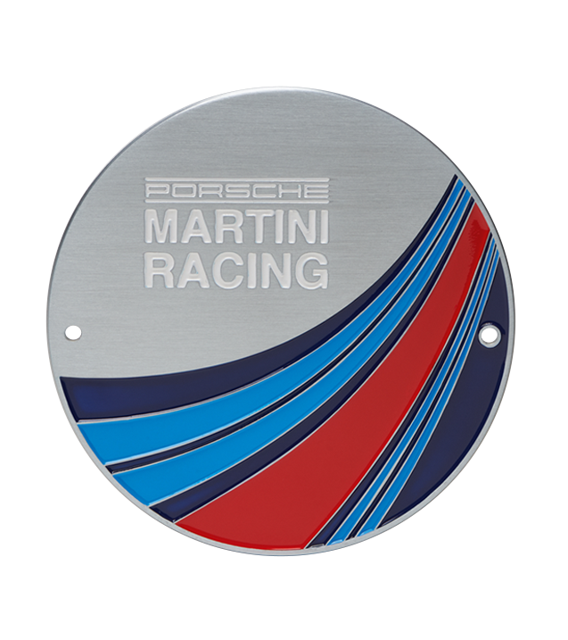 Copy of Porsche Driver's Selection Limited Edition Grillbadge- Martini Racing 2019