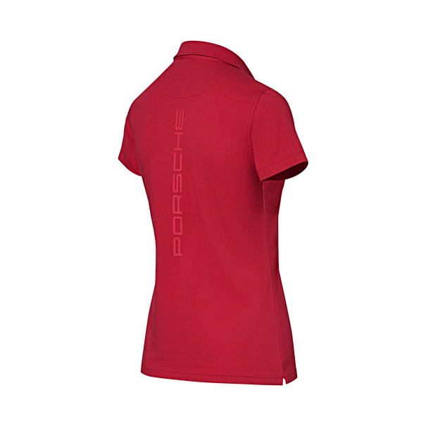 Porsche Driver's Selection Ladies Polo Shirt (Red)- Motorsport Collection