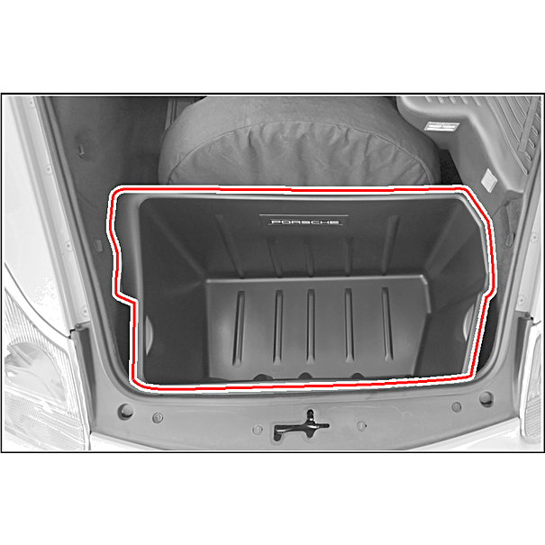Front trunk liner for Porsche 911 (996) and Boxster (986)