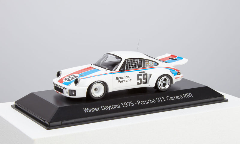 Porsche 911 Carrera RSR Winner of Daytona 1975 Model Car 1:43 Scale