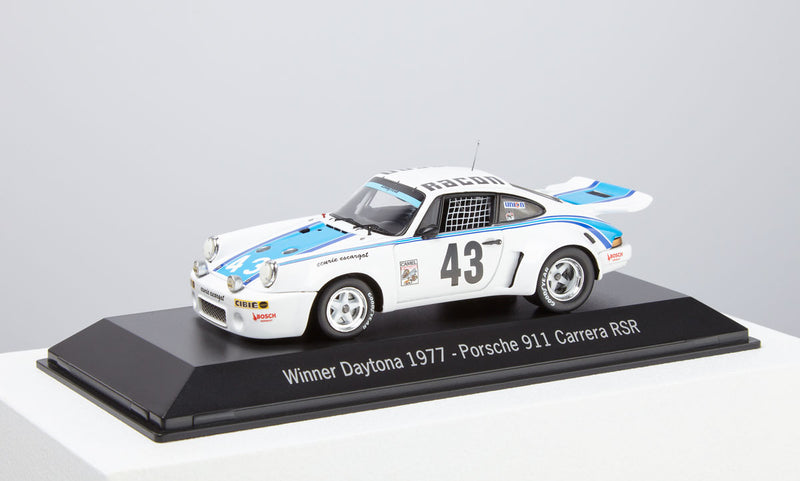 Porsche 911 Carrera RSR 1:43 Model Car - 1977 Daytona Winner