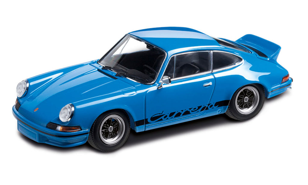 Porsche 911 Carrera RS 2.7 1:43 Model Car - Limited Edition (Glacier Blue)