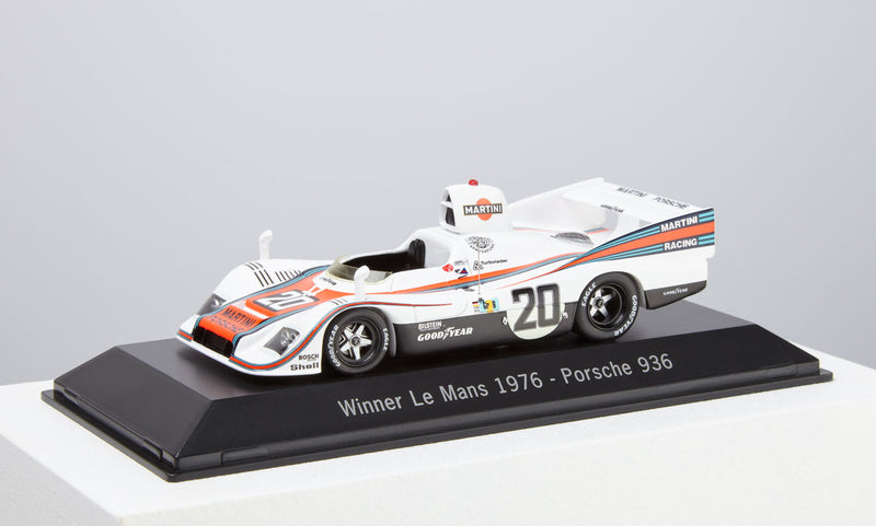 Porsche 936 1:43 Model Car - 1976 Le Mans Winner