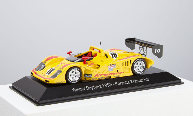 Porsche 956 Kremer K8  1:43 Model Car - 1995 Daytona Winner
