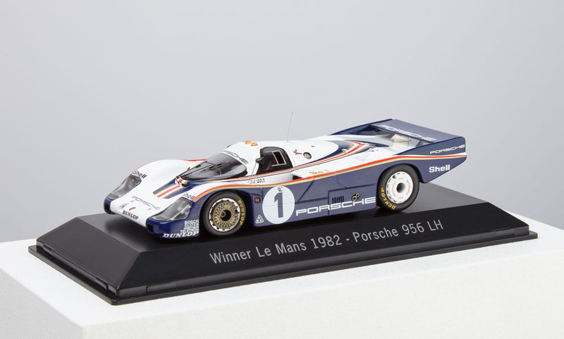 Porsche 956 LH 1:43 Model Car - 1982 Le Mans Winner