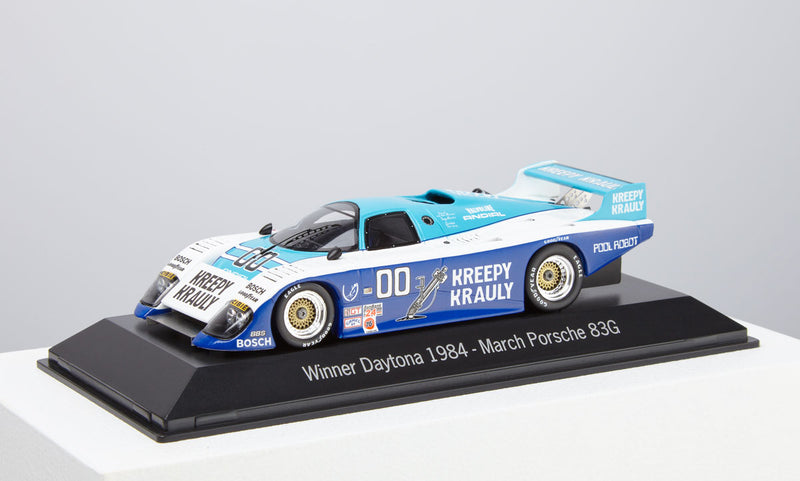 Porsche-March 83G 1:43 Model Car - 1984 Daytona Winner