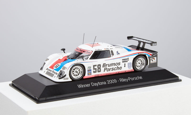Porsche-Riley #58 Winner of Daytona 2009 Model Car 1:43 Scale