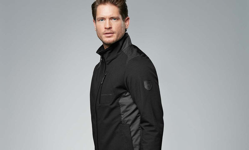 Porsche Driver's Selection Men's Sweat Jacket - Essential Collection