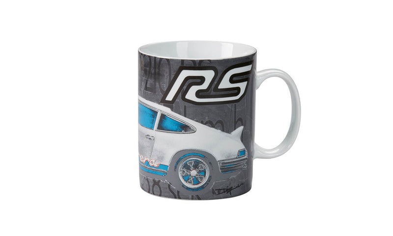 "Porsche Driver's Selection RS 2.7 Collector's Cup / Mug - ""Get Out And Drive"""