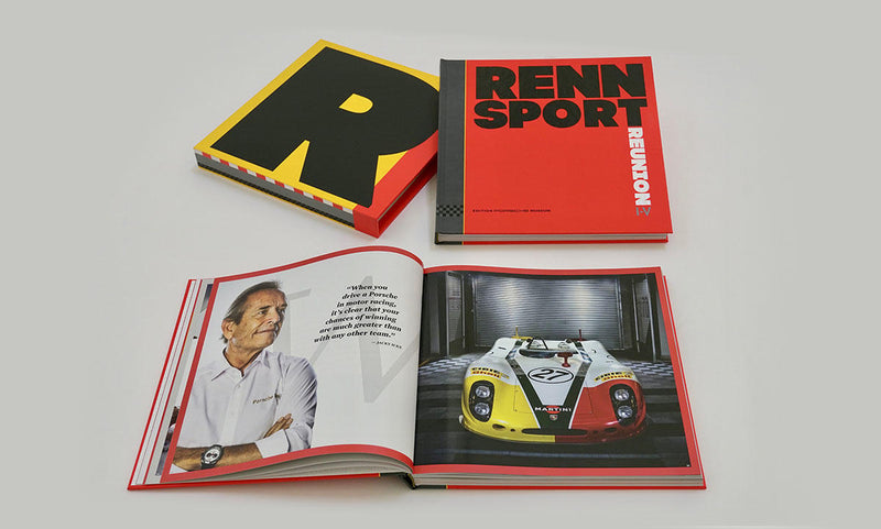 Porsche Museum Book History of Rennsort I-V Book
