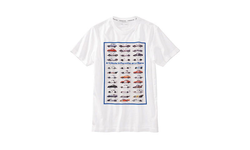 "Porsche Driver's Selection ""A tribute to Porsche"" LeMans T-shirt"