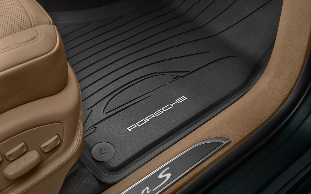 Porsche All-weather Floor Mats - Macan